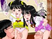 美少女達がキモオヤジチ○ポにイカされまくってるwww