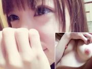 20歳♀美人OLが顔出しでピンク乳首の超美乳を自撮り