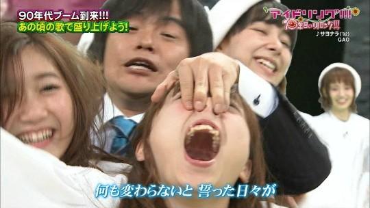 【-速報・放送事故-】アイドリング、鼻フックされて鼻毛を全国放送されるwwwwwwwwwwwwwwwww(画像あり)・8枚目