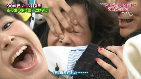 【-速報・放送事故-】アイドリング、鼻フックされて鼻毛を全国放送されるwwwwwwwwwwwwwwwww(画像あり)・11枚目