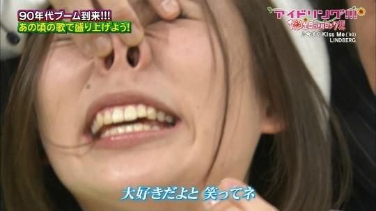 【-速報・放送事故-】アイドリング、鼻フックされて鼻毛を全国放送されるwwwwwwwwwwwwwwwww(画像あり)・15枚目