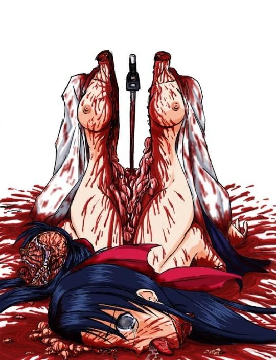 【~ハラワタ注意~】こういう殺害画像でヌクヤツ・・・(画像26枚)・18枚目