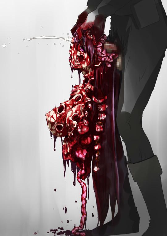 【~ハラワタ注意~】こういう殺害画像でヌクヤツ・・・(画像26枚)・22枚目