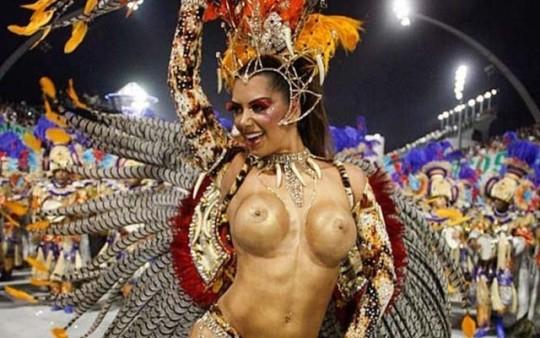 【-超絶悲報ー】リオカーニバルのブラジリアン凶暴おっぱい(美女)が全くヌケない。(画像あり)・2枚目