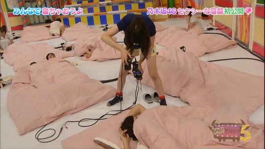 【★ポロリあり】「乃木坂46 NOGIBINGO!」に巨匠イジリー岡田を呼んで寝起き企画やった結果wwwwwwwww(画像20枚)・5枚目