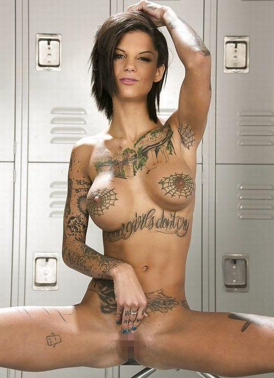 【-後悔先に立たず-】全身タトゥーの白人女性、もったいな杉(※画像30枚※)・23枚目