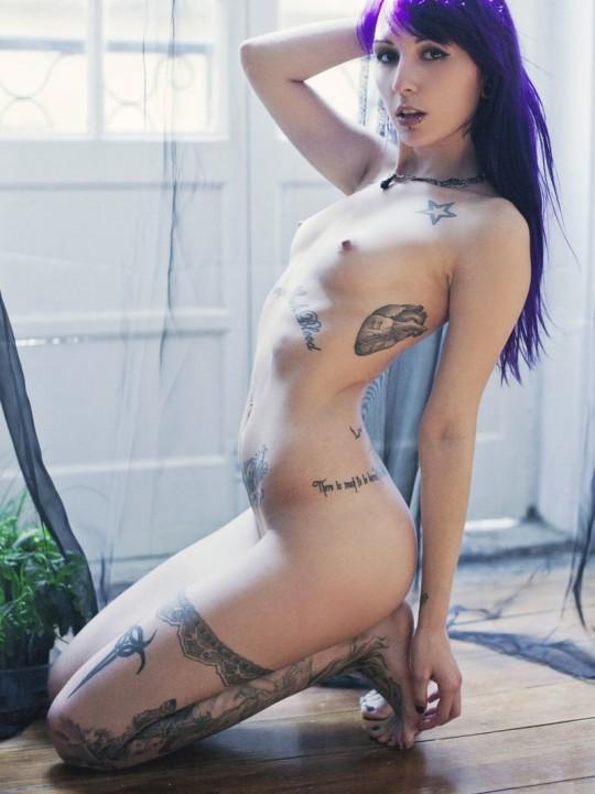 【-後悔先に立たず-】全身タトゥーの白人女性、もったいな杉(※画像30枚※)・28枚目