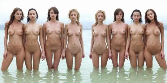 【※異文化】陽気な米国人女性が集合写真を撮る際の『正装』がコチラwwwwwwwwwwwwwwwwwwwwww(画像22枚)・7枚目