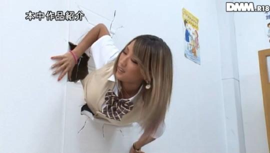 【※草不可避】ヤンキー女「ああ!壁にハマって出られない!!」 →結果wwwwwwwwwwwwwww(画像あり)・2枚目