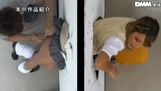 【※草不可避】ヤンキー女「ああ!壁にハマって出られない!!」 →結果wwwwwwwwwwwwwww(画像あり)・8枚目