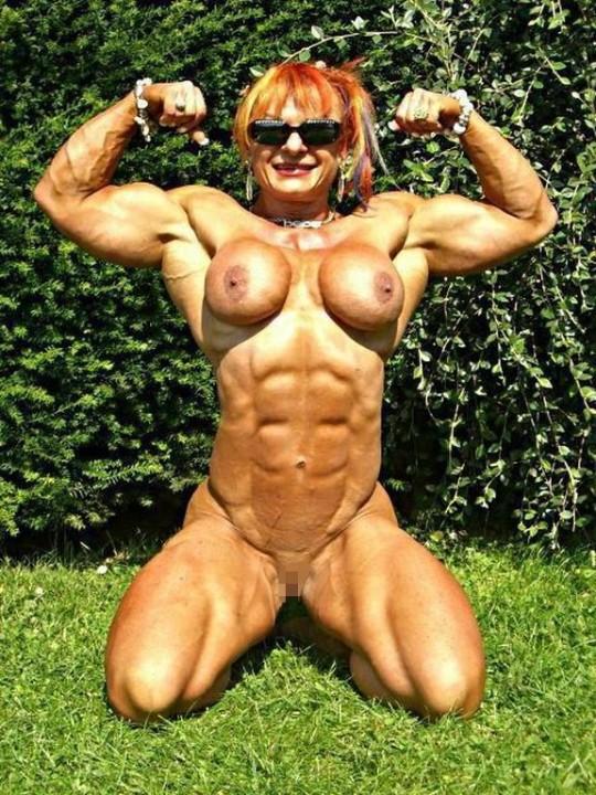 【閲覧注意】女 性 版 範 馬 勇 次 郎 画 像 ス レ・・・誰得スレ杉内これ。。。(※画像30枚※)・30枚目