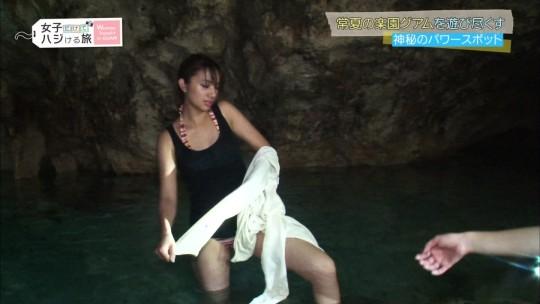 【※録画不可避※】大正義テレ東の『女子だけでハジける旅~Woman Travel in GUAM』とかいうオカズ番組wwwwwwwwwww(キャプあり)・19枚目