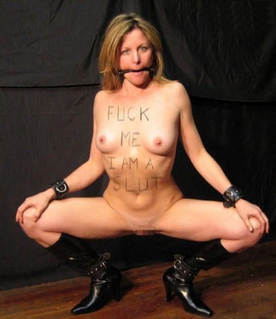 【※画像あり】おまえらのお気にの「肉便器画像」貼ってくスレwww どいつも人間の尊厳無視されてて草wwwwww・12枚目