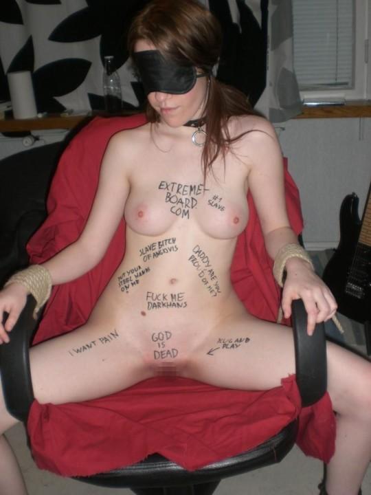 【※画像あり】おまえらのお気にの「肉便器画像」貼ってくスレwww どいつも人間の尊厳無視されてて草wwwwww・16枚目