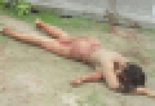 """【※超・閲覧注意】レイプされた上にポアされてしまった女性の""""事後画像""""ギャラリーが閲覧注意杉。。。(画像30枚)・26枚目"""