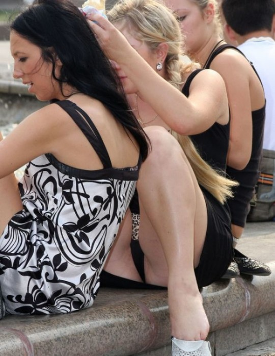 【※ノーガード戦法】外人女性の下半身ガードがガッバガバな感じほんとすこwwwwwwwwwwwwwww・28枚目