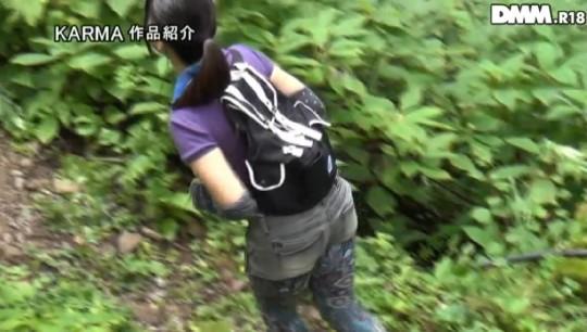 【※画像あり】谷○岳ハイキングコースで尿意が我慢できなくなった山ガールの末路wwwwwwwwwwwww・2枚目