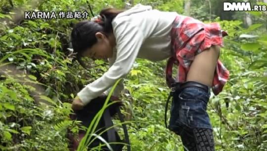 【※画像あり】谷○岳ハイキングコースで尿意が我慢できなくなった山ガールの末路wwwwwwwwwwwww・18枚目