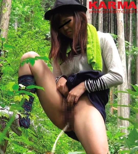 【※画像あり】谷○岳ハイキングコースで尿意が我慢できなくなった山ガールの末路wwwwwwwwwwwww・19枚目