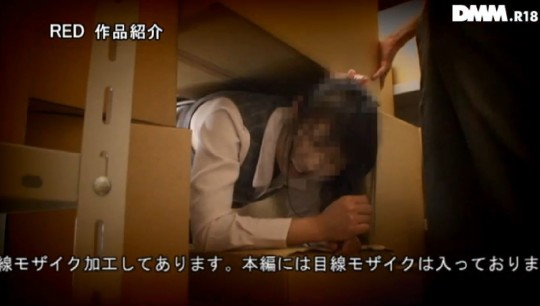 【※画像】会社の資料室で落下物に挟まれ身動きとれなくなった女子社員発見 → 男の本能対応が草wwwwwwww・1枚目