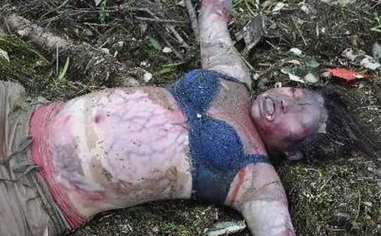 【※超・閲覧注意】犯されてポアされた女性の悲しい悲しい画像ギャラリー。(画像30枚)・4枚目
