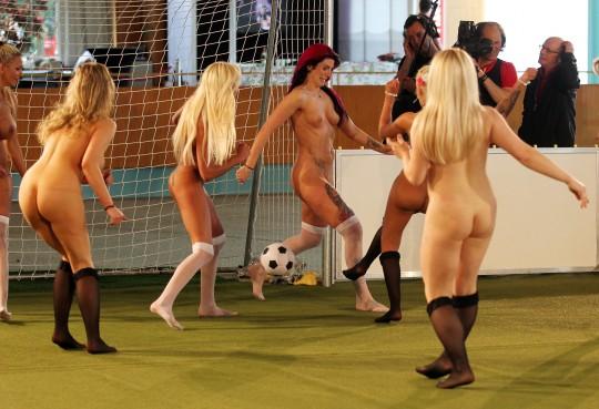 Women's Naked Soccer European Championship