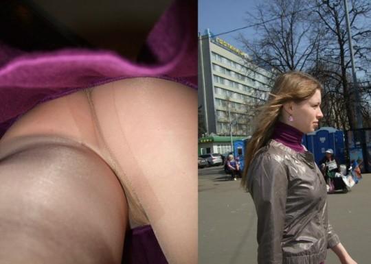 【大好物】「逆さ撮り+本人の顔」っていう構図のエロ画像ホント有能wwwwwwwww(画像あり)・9枚目
