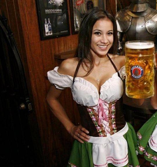 【マニアック】ドイツのスケベな民族衣装『ディアンドル』のエロ画像貼ってく。(画像30枚)・6枚目