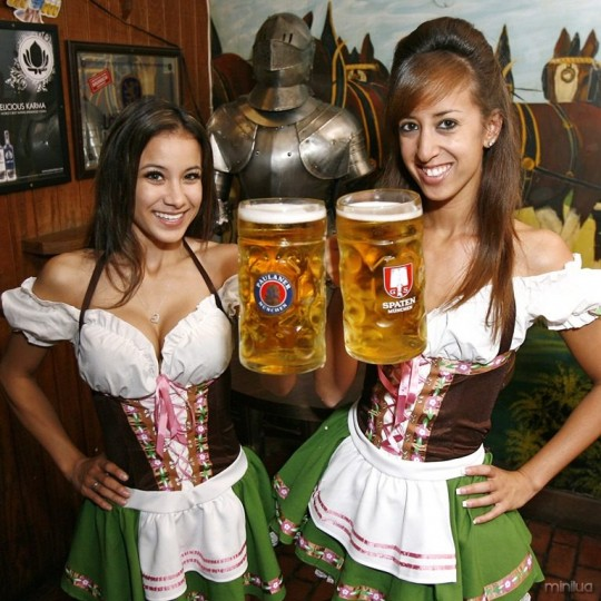 【マニアック】ドイツのスケベな民族衣装『ディアンドル』のエロ画像貼ってく。(画像30枚)・7枚目