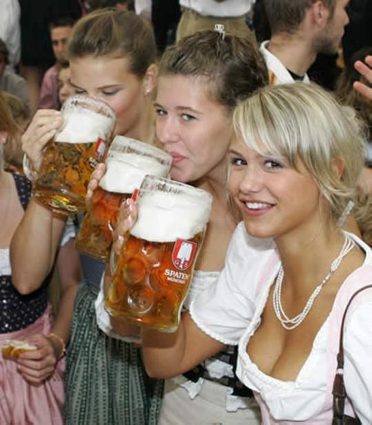 【マニアック】ドイツのスケベな民族衣装『ディアンドル』のエロ画像貼ってく。(画像30枚)・12枚目