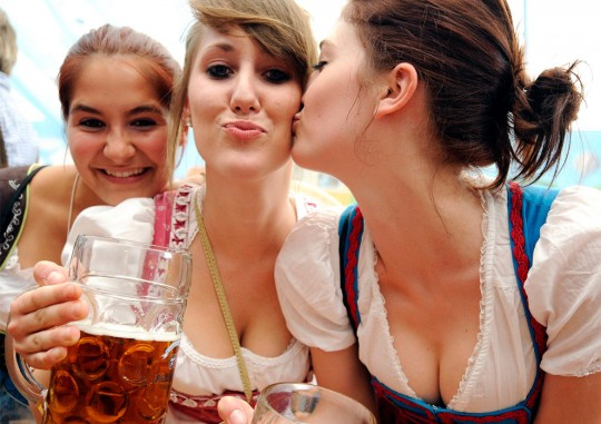 【マニアック】ドイツのスケベな民族衣装『ディアンドル』のエロ画像貼ってく。(画像30枚)・14枚目