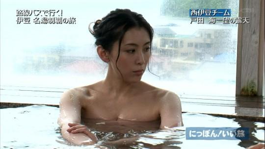 【ポロリあり】家族で見てたら気まずい空気になる温泉キャプ画像を貼ってくwwwwwwwwww(画像あり)・2枚目