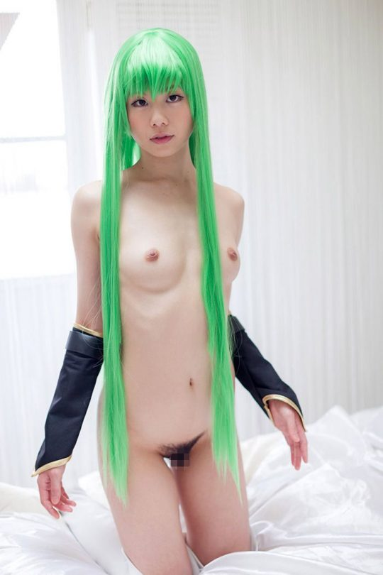 【マニアック】カラフルな髪の毛のエロレイヤー画像が自然と集まってくるスレwwwwwwwwwwwwwwwwwwwww(画像あり)・27枚目
