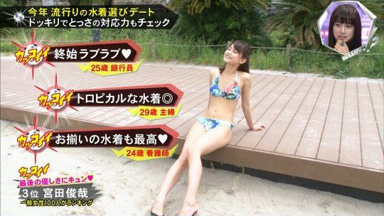 【画像あり】キスマイBUSAIKU!?の水着選びデートコーナーで変態ビキニ見せつけられた玉森の反応wwwwwwwwwww・4枚目