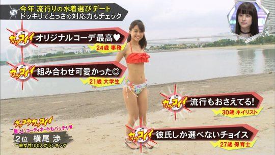 【画像あり】キスマイBUSAIKU!?の水着選びデートコーナーで変態ビキニ見せつけられた玉森の反応wwwwwwwwwww・9枚目
