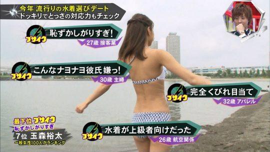 【画像あり】キスマイBUSAIKU!?の水着選びデートコーナーで変態ビキニ見せつけられた玉森の反応wwwwwwwwwww・36枚目