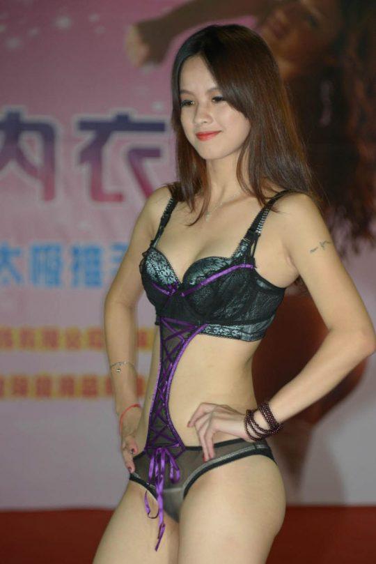 【画像あり】中国の下着ファッションショーの様子をご覧下さいwwwwwwwwwwwwwwwwwwwwwwwwwwww・9枚目