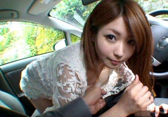 【※画像あり】付き合い出した彼女とドライブに出掛けたらとりあえずお願いしてみる事wwwwwwwwwwwwwwwwwwwwwwwww・25枚目