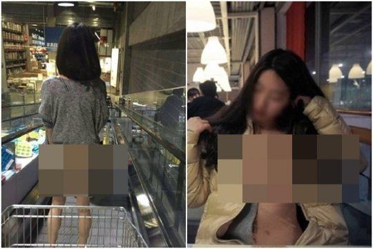 【速報・マジキチ】IKEAで女性が下半身露出して買い物してる写真がSNSに拡散www警察も捜査にwwwwwwwww(画像あり)・6枚目