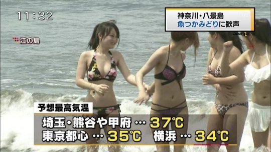 さて、この夏のTVに映った素人ビキニ画像集めたからチャンピオン決めようぜ!!(画像あり)・10枚目