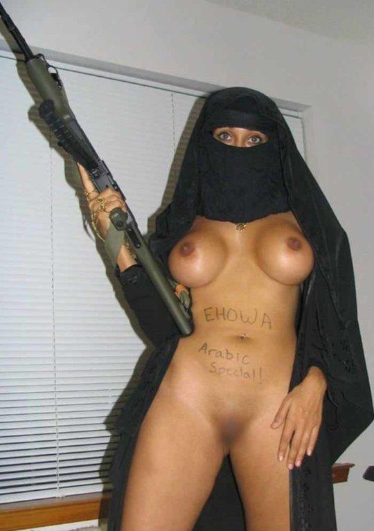 中東イスラム教の女の子のおっぱいデカ過ぎヌードwwwwww「はい処刑」(150枚)・63枚目