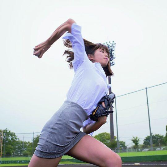 【朗報】神スイング稲村亜美(20)、超絶巨乳化wwwwwwwwwwwwwwwwwwwwwwwwwwwww(画像あり)・17枚目
