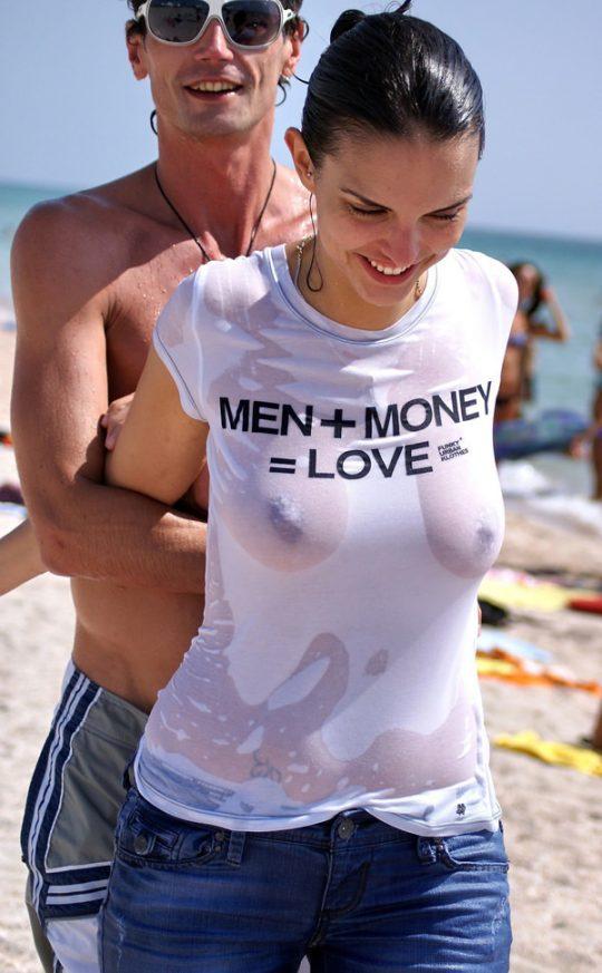 外国人まんさんの濡れシャツおっぱい透け文化、ほんとすこwwwwwwwwwwwwwwwwww(画像あり)・18枚目