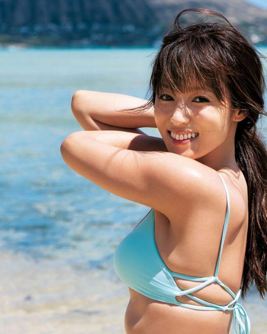 【悲報】深田恭子(34)尻丸出しでまだグラビアを撮り続けるwwww「需要どこにあんねん」「むしろエロくなってて草」(画像あり)・35枚目