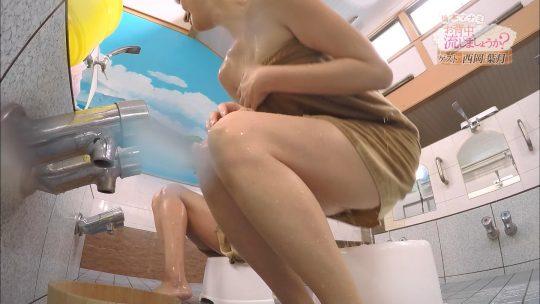 【画像あり】「橋本マナミのお背中流しましょうか?」そろそろアウトなラインに近づくwwwwwwwwwwwwwwwwww・12枚目