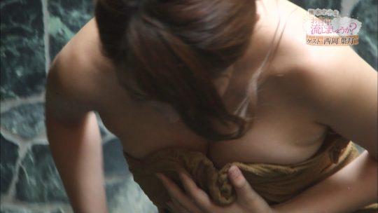 【画像あり】「橋本マナミのお背中流しましょうか?」そろそろアウトなラインに近づくwwwwwwwwwwwwwwwwww・38枚目