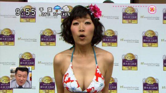 【衝撃画像】女芸人ゆりやんレトリィバァの水着姿が衝撃過ぎワロタwwwwwww即ハボやろこんなんwwwwwwwwwww・17枚目