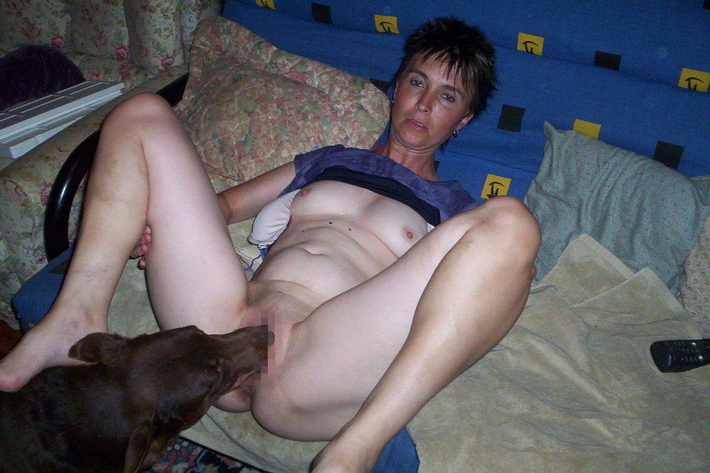 Mom Fucks The Family Dog