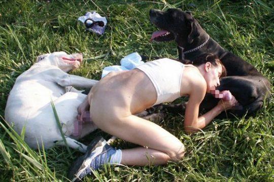 【閲覧注意】「イヌ派外人美女」のSNS画像がマジキチ過ぎて草wwwwwwwwwwwwww(画像あり)・28枚目