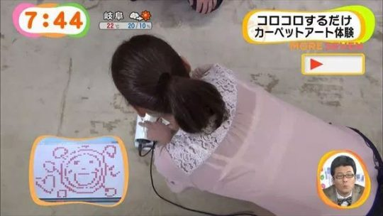【TVエロキャプ】白ブラウスの女が居たらとりあえずブラジャー狙っていくカメラマンのプロ根性、すこwwwwwww【エロ画像30枚】・25枚目